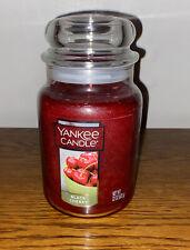 Yankee Candle Black Cherry Large 22 Oz Jar Candle Free Shipping NEW