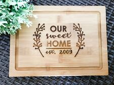 Personalised Chopping/ Presentation /Serving / Cheese Board - House Warming Gift