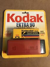 KODAK EKTRA 90 CAMERA vintage New Old Stock  excellent condition With 110 Film