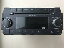 DODGE CHRYSLER JEEP FACTORY STEREO  MP3 WMA SINGLE CD PLAYER AUX P68021159AC OEM