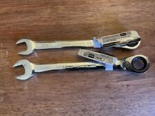 New Listingnew Craftsman Ratcheting Combination Wrench 13mm And 14mm Metric Polished