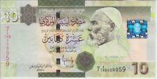Libya Banknote P73 10 Dinars 2009, UNC