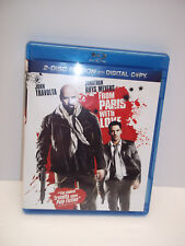 From Paris With Love Blu-Ray Digital Copy John Travolta Rhys Meyers