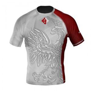 HighType Patriotic Rash Guard Polska MMA BJJ  Fightwear Sportswear