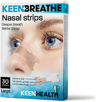 Snoring Solution - Nasal Strips To Relieve Nasal Congestion - 30 Count