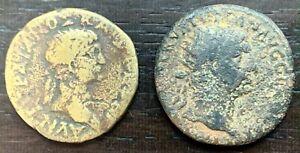 ROME - LOT DE 2 DUPONDIUS À IDENTIFIER (2)