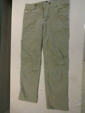 "KUHL ""Revolvr"" Vintage Patina Dye Pants Hiking Olive Mens 30 x 32 NICE"