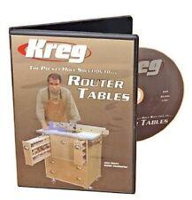 DVD COMBO Kreg V06 Pocket Hole Solution to Router Tables & V09 Router Table Tips