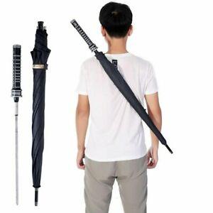 HHYUKIMI Brand Fashion Man Automatic Long Handle Umbrella Windproof Self-defense