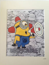Despicable Me - Minions - Bee-Do Bee-Do -  Hand Drawn & Hand Painted Cel