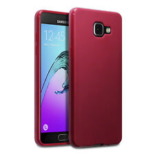 Samsung Galaxy A5 2017 Case Impact Displacement   Gel Red Matte  ISPORT™
