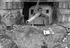 6x4 Gloss Photo ww349 Normandy Calvados Longues 1944 lg2