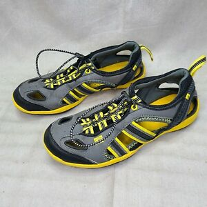 Body Glove Dynamo Rapid Water Shoes Size 8 Yellow and Grey