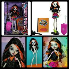 BNIB 2013 Monster High Scaris Skelita Calaveras Los Eskeletos skeleton Doll HTF