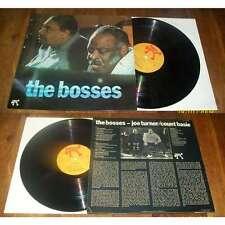 Count Basie / Joe Turner – The Bosses LP Cool Jazz Pablo