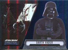 Star Wars Evolution 2016 Blue Parallel Card #8 Darth Vader - Star Pilot