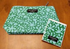 Clinique Marimekko TEAL Cosmetic Bag & Matching Mirror LIMIT EDITION  2018 NEW