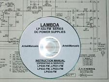Lambda Lp530-Fm, Lp531-Fm, Lp532-Fm, Lp533-Fm,Lp534-Fm,Lp535-F m, Ops-Srv Manual