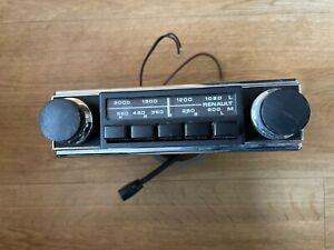 Renault vintage OEM push button car radio