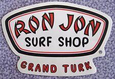 Ron Jon Surf Shop Sticker Decal – Grand Turk – New