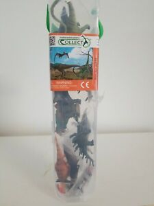 """A Natural World In Miniatur"""" Collect A"""" Dinosaurs. Free Shipping."""
