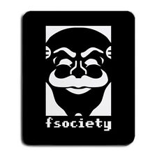 F Society Fun Society Logo Mr Robot Hacker Group Film TV Large Mouse Pad