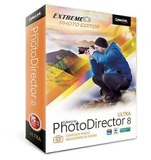 Cyberlink PhotoDirector 8 Ultra Extreme Photo Editor PTD-E800-RPU0-00