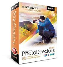 Cyberlink PhotoDirector 8 Ultra Extreme Photo Editor PTD-E800-RPU0-00