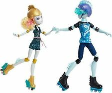 Monster High Lagoona Blue & Gillington Gil Webber Wheel Love Dolls New