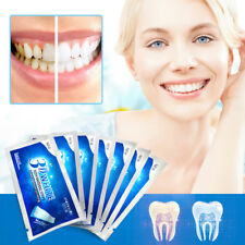 3D Whitening Gel Strips Bright White Dental Treatment Teeth Whitening Strip 7 Pc