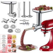 12pc Meat Grinder Attachment For Kitchenaid Stand Mixer, Food Grinder Attachment