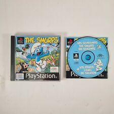 New listing The Smurfs PS1 Playstation 1 PS1 Video Game with manual
