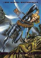 LONGSHOT / 1993 Marvel Masterpieces BASE Trading Card #52