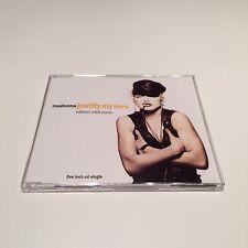 Justify My Love by Madonna RARE Germany CD Single RSA William Orbit Remix