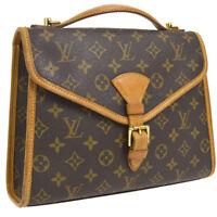 LOUIS VUITTON BEL AIR 2WAY BUSINESS HAND BAG MONOGRAM M51122 G03691e