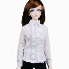 [wamami] 80# White Clothes Shirt/Clothes For 1/4 MSD DOD BJD Dollfie