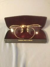 Vintage Very Ornate Ladies 1/10 12K Gf Eyeglasses-American Made or European?
