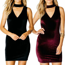 Bodycon Polyester Stretch Dresses for Women