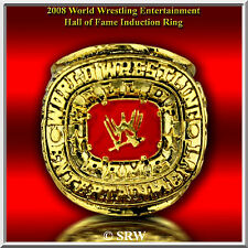 2008  Hall OF FAME INDUCTION RING 24K GOLD PLATED SIZE 7