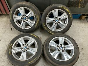 Bmw e87 e8x 16 inch alloy wheels with tyres style 222 205/55/16 2005-2013