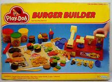 KENNER TONKA PLAY DOH VTG 1989 BURGER BUILDER PLAYSET EUROPEAN NEW MIP UNUSED