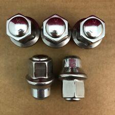 QTY 5: Chrysler Dodge Dorman Stainless Steel Lug Nut 6507824AA 611-259 Free Ship