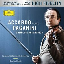 Accardo plays Paganini (Limited Edition) - Complete Recordings 6 CD + BLU-RAY NUOVO