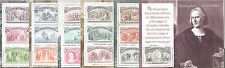états UNI Articulation ITALIE 1992 Blocs-feuillets Centenario Colombo MNH