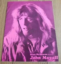 John Mayall - 1969 UK tour programme