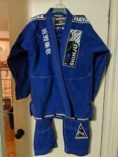 Jiujitsu Uniform Hayabusa Shinju3 Kimono GI BJJ Brazilian blue A3