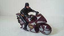 JOUET FIGURINE BATMAN CRIME SQUAD - MOTO BATCYCLE - DC COMICS KENNER 1992