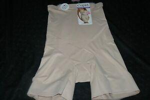 Cupid Extra Firm Control Tummy Tuck Hi Waist Shapewear Slimmer 5789 Beige Size L