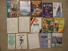 official club shop souvenir list ipswich august 1991
