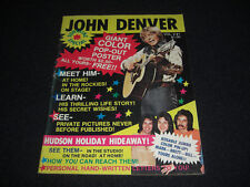 John Denver Original 1975 Magazine with Color Centerfold